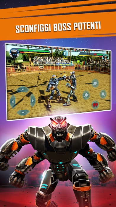 Screenshot for Real Steel in Italy App Store