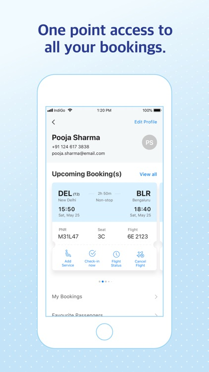 IndiGo | Flight Booking App screenshot-6