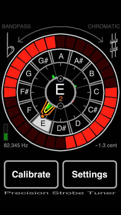 Precision Strobe Tuner screenshot-0