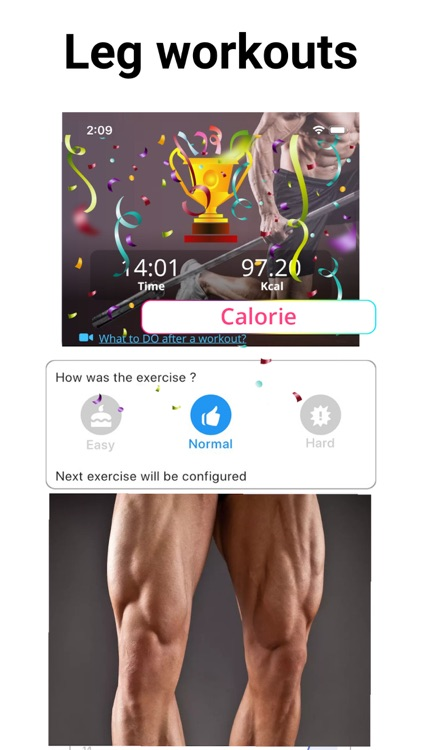 Leg Workouts Lower Body men screenshot-8