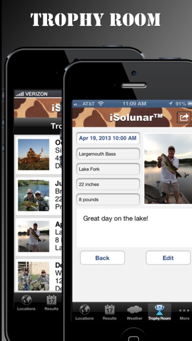 Screenshot for iSolunar™ Hunt & Fish Times in Canada App Store