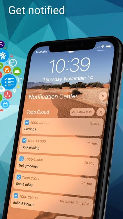 Todo Cloud: Task List Tracker screenshot-8