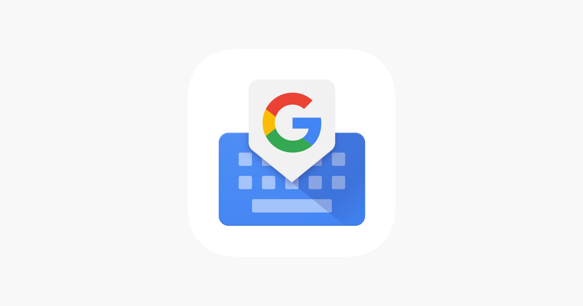 Gboard – the Google Keyboard on the App Store