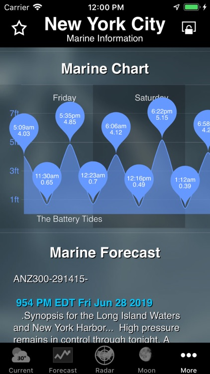 NOAA Weather screenshot-9