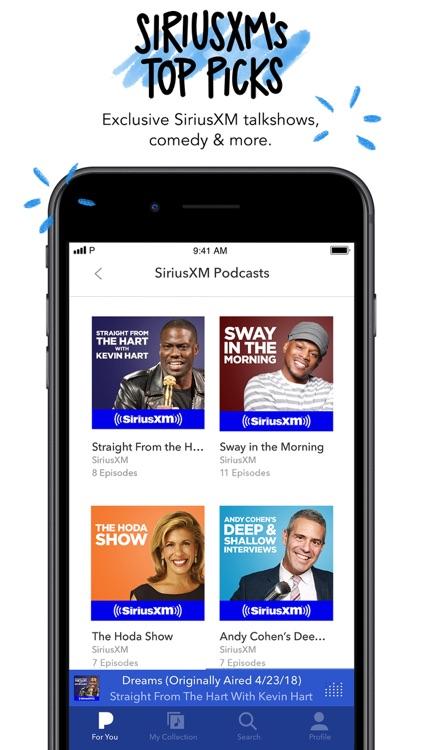 Pandora: Music & Podcasts screenshot-5