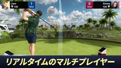 最新スマホゲームのゴルフキングワールドツアーが配信開始!