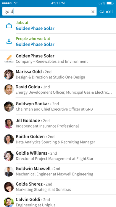 Screenshot for LinkedIn in Estonia App Store