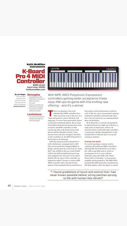 Keyboard Magazine screenshot-9