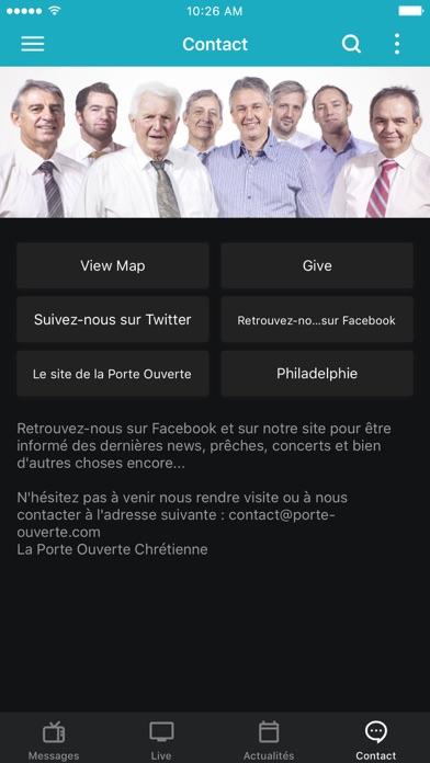Screenshot #3 pour La Porte Ouverte Chrétienne