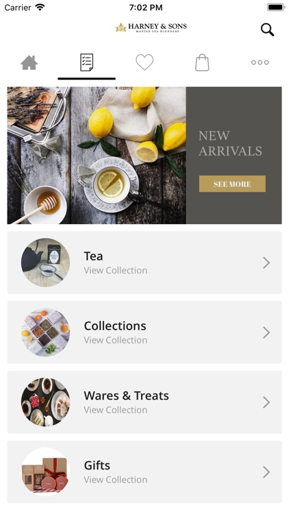 Harney & Sons Fine Teas screenshot-1