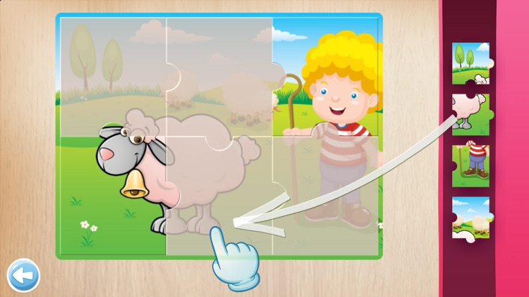 Animals Puzzle for Kids screenshot-3