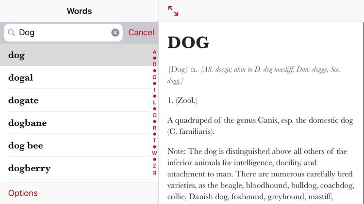 Webster's Writer's Dictionary screenshot-4