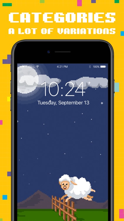 Moving Pixel Live Wallpapers screenshot-3