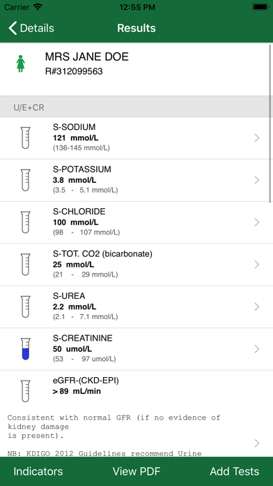 Screenshot for Lancet Labs Mobile in South Africa App Store