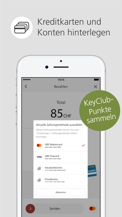 UBS TWINT: Mobile Payment App screenshot-3