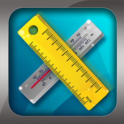 Ícone do app Unit Converter Pro HD.
