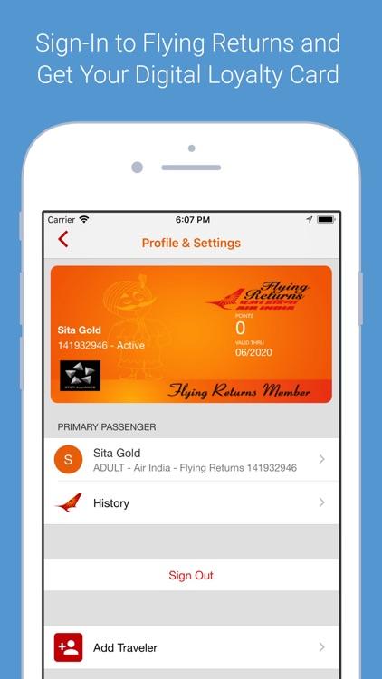 Air India screenshot-4