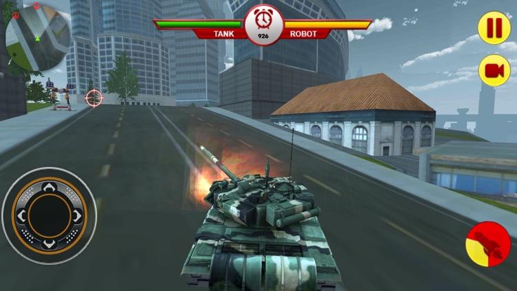 Tank Vs Robot: War For Planet screenshot-4