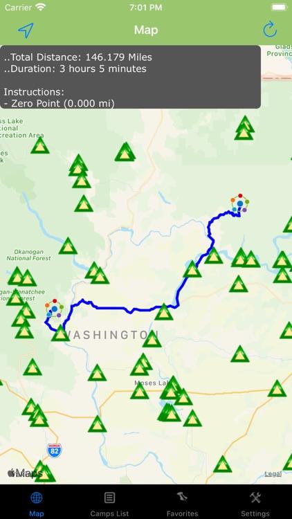 Washington – Camping & RV's screenshot-3