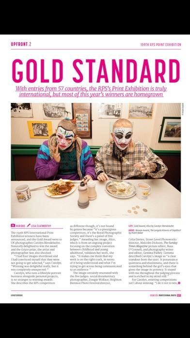 Professional Photo Magazine review screenshots