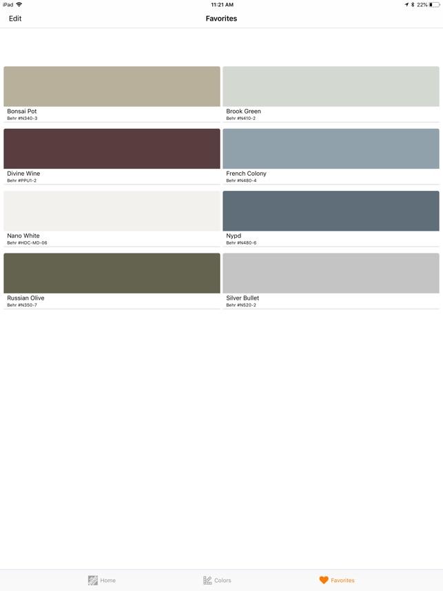 project color the home depot en app store rh apps apple com