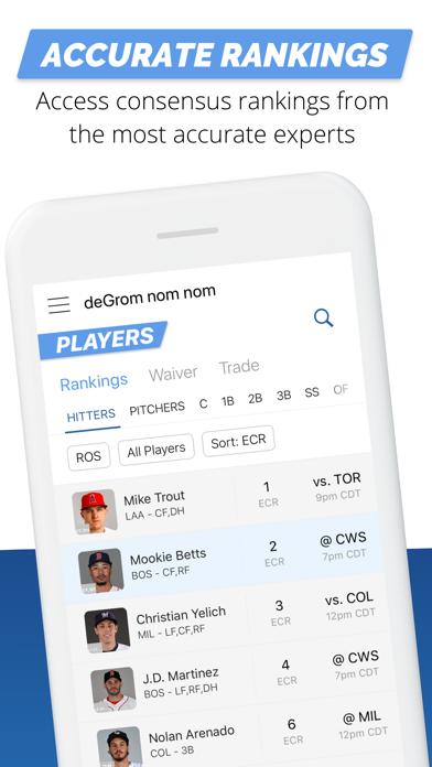 Fantasy Baseball My Playbook Screenshot