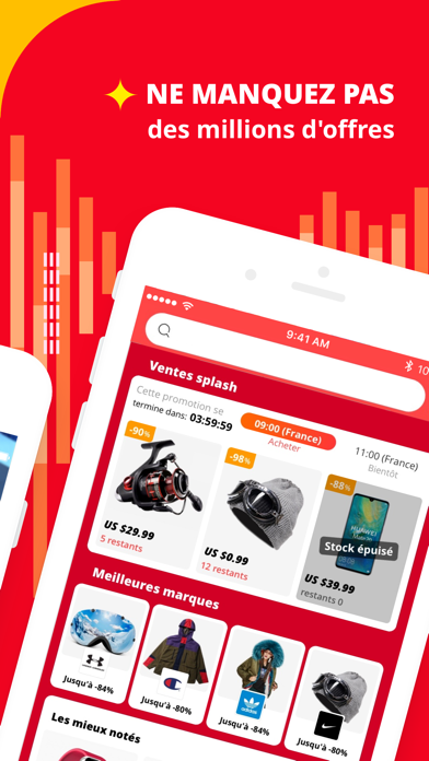 AliExpress Shopping App sur pc