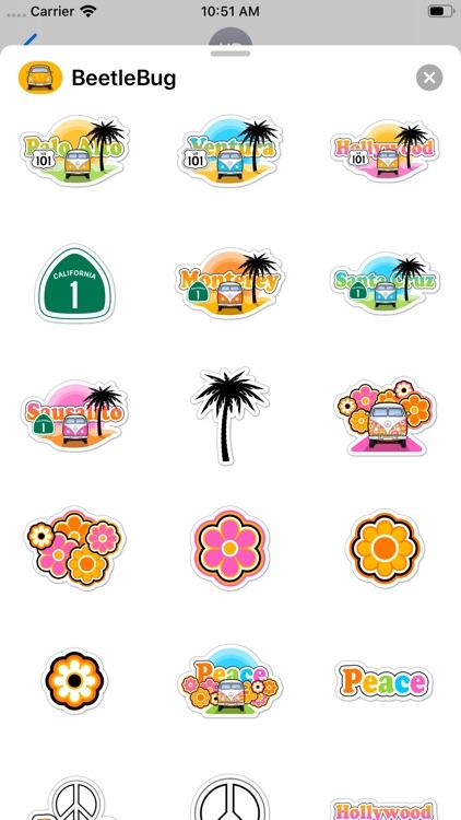 BeetleBug Stickers