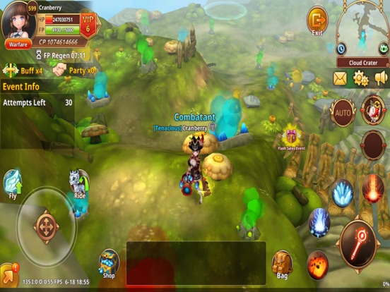Flyff Legacy - Anime MMORPG by Galalab Inc  (iOS, United States