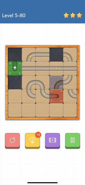 Route slide puzzle game na App Store