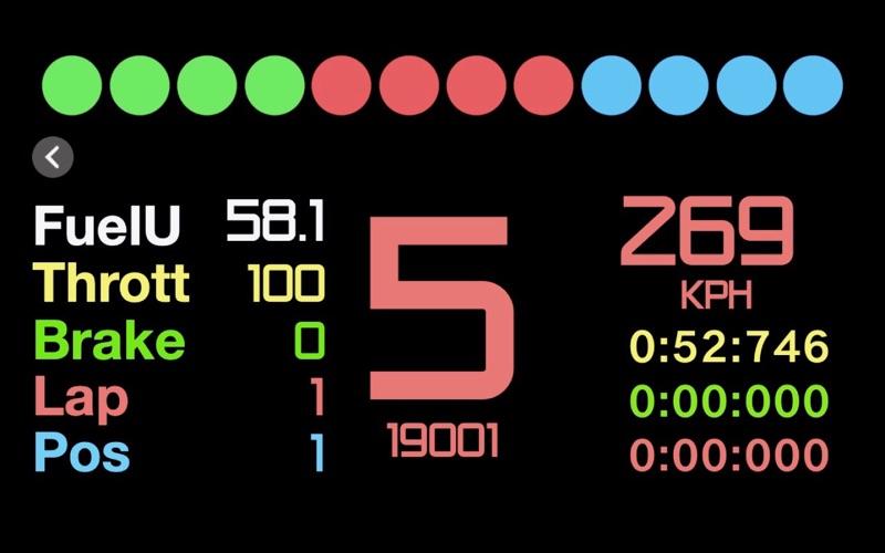Sim Racing Dashboard screenshot 5