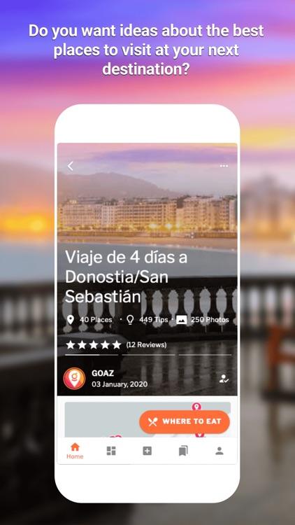 GOAZ:Travel Stories,Trips&Tips screenshot-3