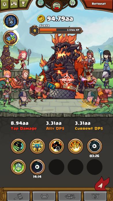Thor : War of Tapnarok screenshot 7