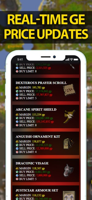 Flip Finder by Theoatrix OSRS on the App Store