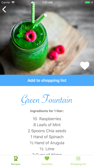 Screenshot for Green Smoothie Life in United States App Store