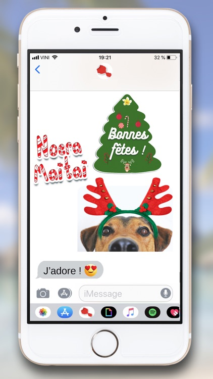 Tahiti Stickers for iMessage