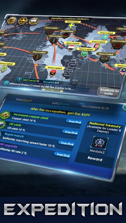 War of Warship:Pacific War screenshot-3