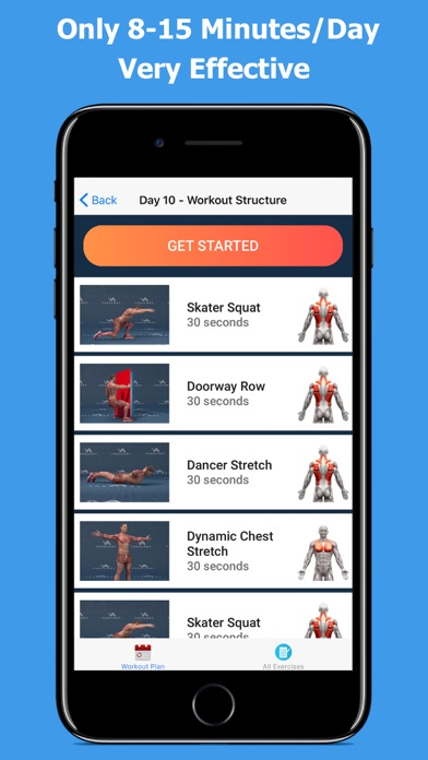 Back and Shoulder Workoutのおすすめ画像5