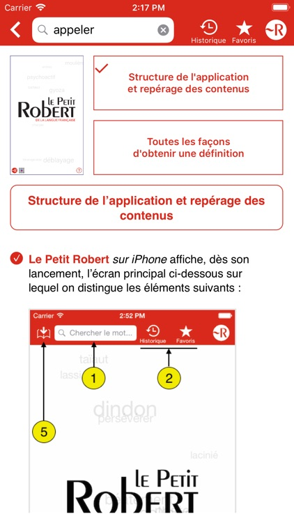 Dictionnaire Le Petit Robert screenshot-9