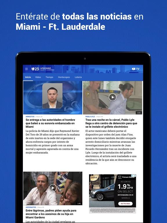 Univision 23 Miami screenshot 9