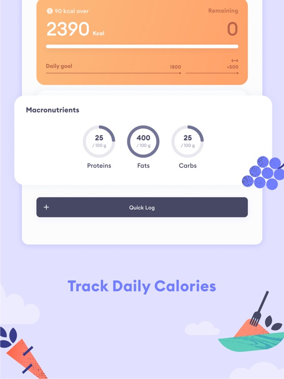 Berry: Calorie Counter & Diet screenshot 9