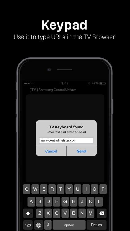 ControlMeister for Samsung TV screenshot-5