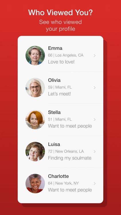 Dating for Seniors - Chat App screenshot-4