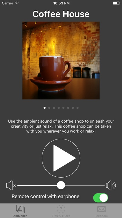 Ambient Cafe