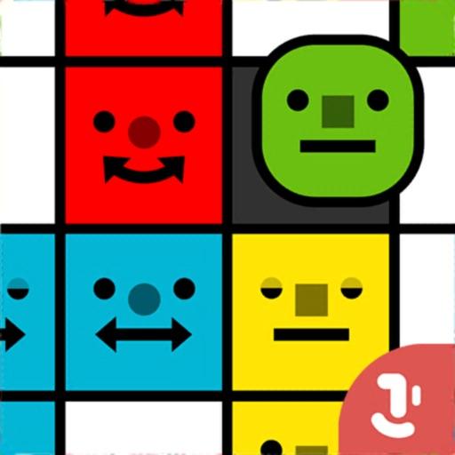 Smiley Blocks - Paint Puzzles