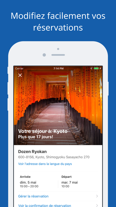 Screenshot for Booking.com – Offres de Voyage in Lebanon App Store