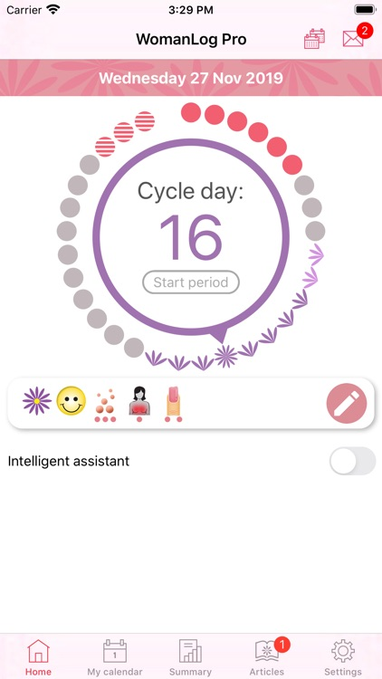 WomanLog Pro Calendar