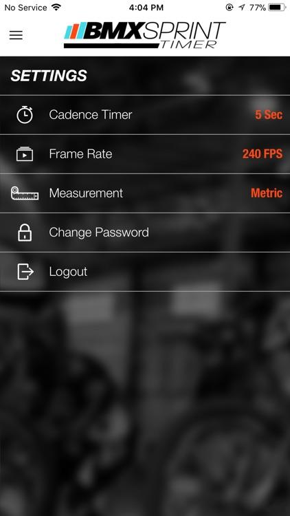 BMX Sprint Timer screenshot-4