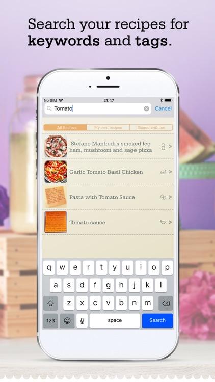 OrganizEat - recipe organizer screenshot-7