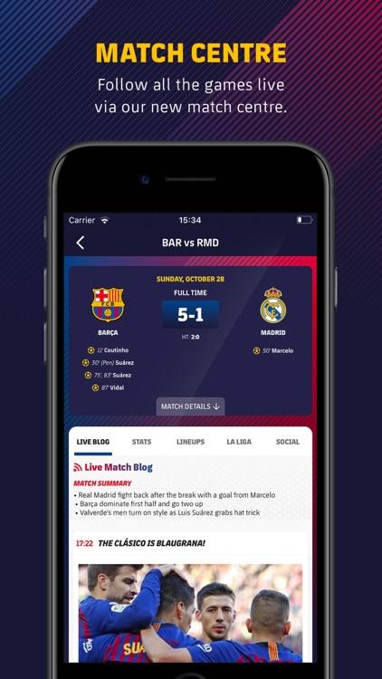 FC Barcelona Official App screenshot-3